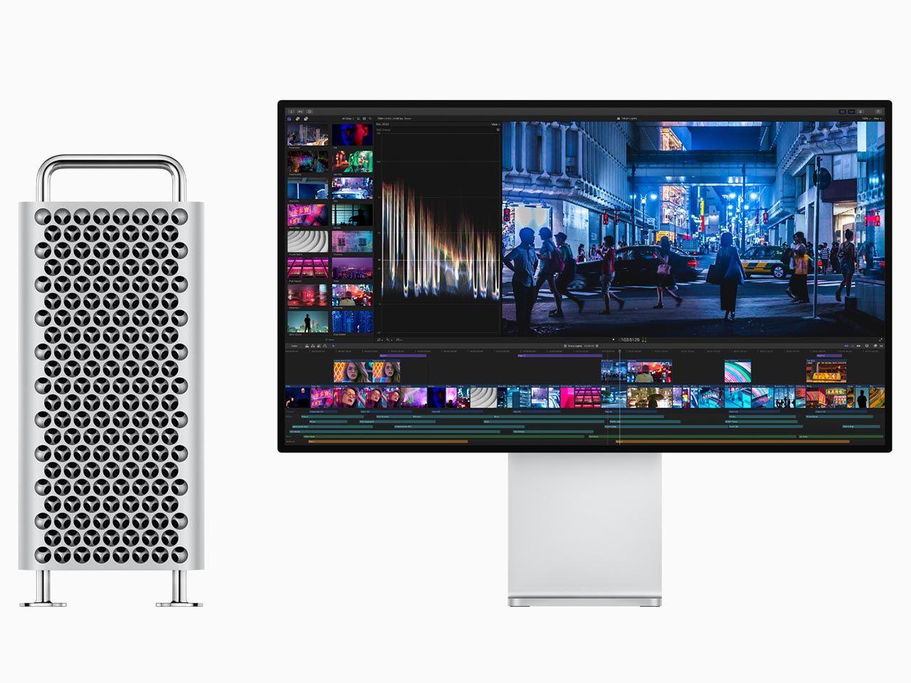 Podłącz wiele monitorów do imac