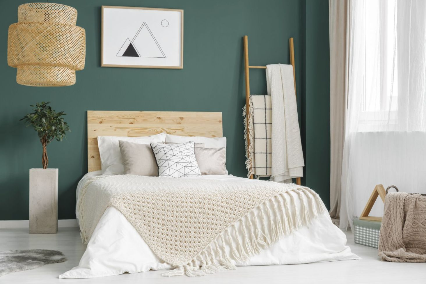 Jak Urządzić Zieloną Sypialnię Wnętrza Ze Smakiem