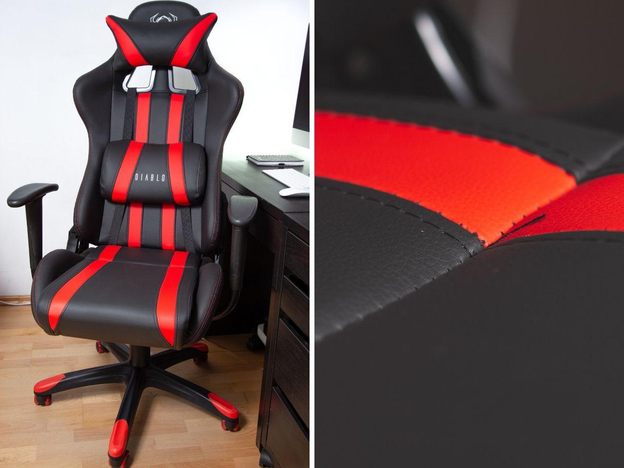 fotel gamingowy diablo x-one recenzja