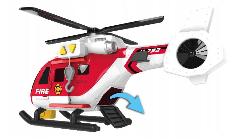 Пожежний вертоліт 63921 міського флоту Дюмель