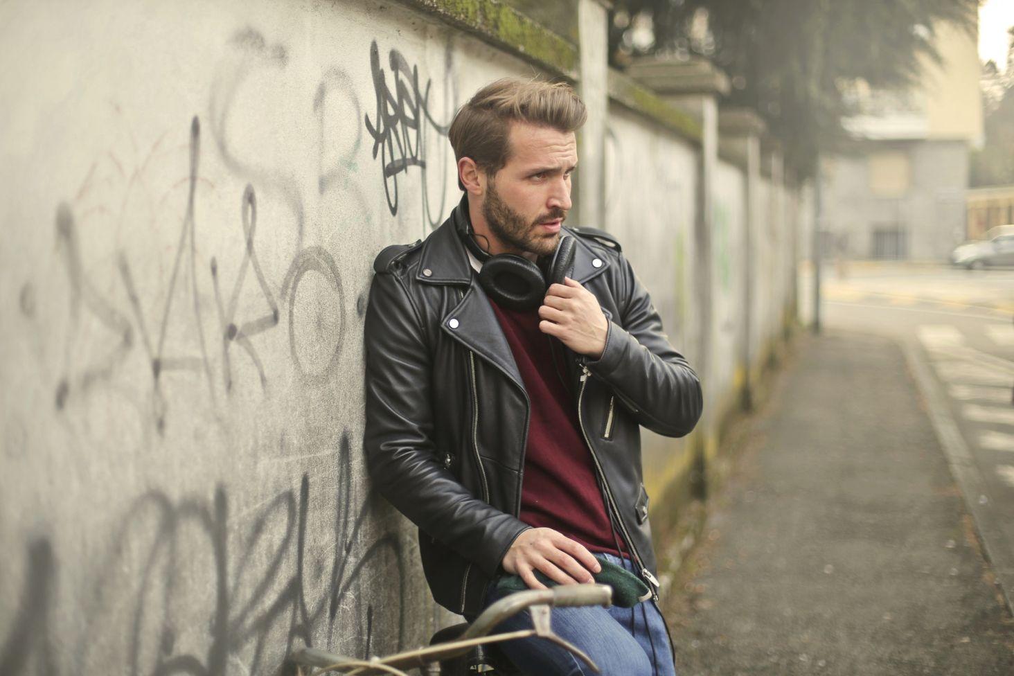 0ae1cdd9431b7 Skórzana kurtka w męskim wydaniu  jak ją nosić  - Blog Jego-Styl.pl