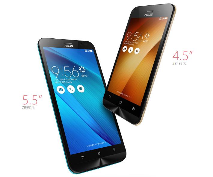ASUS Zenfone Go ZB452KG 8GB Czarny