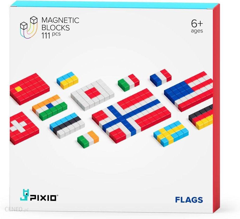 prezent dla 6-latka pixie klocki flags