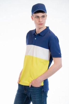 TOMMY HILFIGER POLO COLORBLOCK Multikolor S - Ceny i opinie T-shirty i koszulki męskie VREA