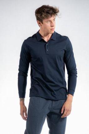 CALVIN KLEIN POLO LIQUID M Granatowy - Ceny i opinie T-shirty i koszulki męskie RFKI