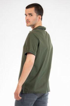 CALVIN KLEIN POLO Zielony S - Ceny i opinie T-shirty i koszulki męskie KEPD