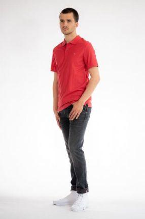CALVIN KLEIN POLO Czerwony M - Ceny i opinie T-shirty i koszulki męskie TCLO