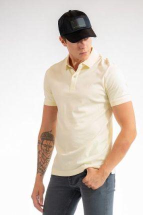 CALVIN KLEIN POLO ŻÓłty XL - Ceny i opinie T-shirty i koszulki męskie HJBO