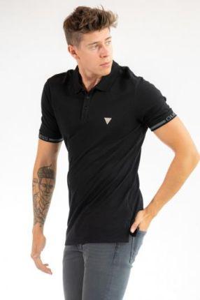 POLO GEOFF Czarny XL - Ceny i opinie T-shirty i koszulki męskie BZGK