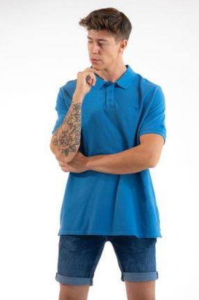 POLO ALFRED Niebieski XL - Ceny i opinie T-shirty i koszulki męskie ANQC