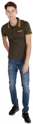 GUESS POLO CLINT Zielony M - Ceny i opinie T-shirty i koszulki męskie JCVC