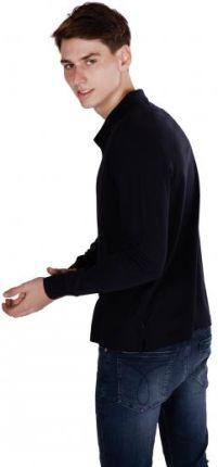 CALVIN KLEIN POLO REFINED XXL Granatowy - Ceny i opinie T-shirty i koszulki męskie AZTN