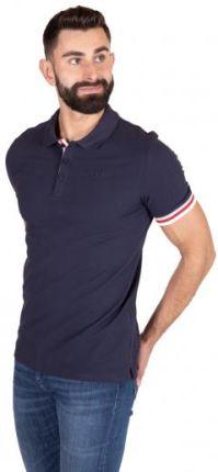 GUESS POLO CLANCY S Granatowy - Ceny i opinie T-shirty i koszulki męskie TOPQ