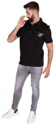 GUESS POLO DUKE Czarny S - Ceny i opinie T-shirty i koszulki męskie NKSU