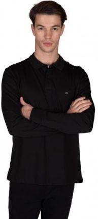 CALVIN KLEIN POLO LIQUID Czarny M - Ceny i opinie T-shirty i koszulki męskie AFAZ