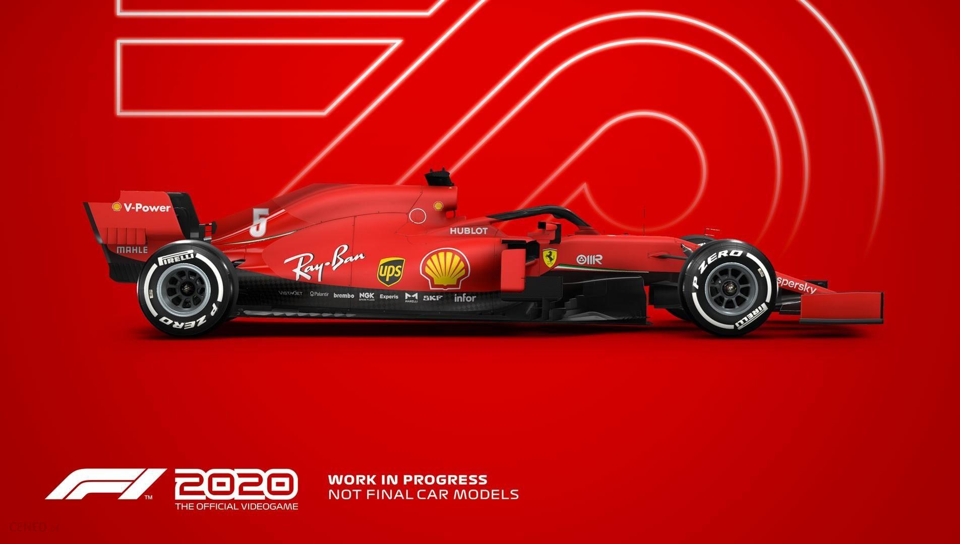 F1 2020 Standard Edition (Gra PS4) - Ceny i opinie - Ceneo.pl