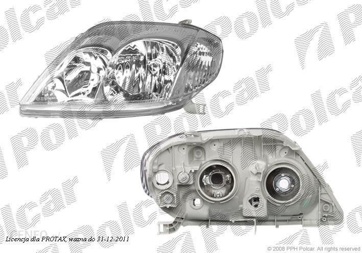 Lampa Przednia Reflektor świateł Przednich Toyota Corolla E12 Sdnhbkombi 0102 1203