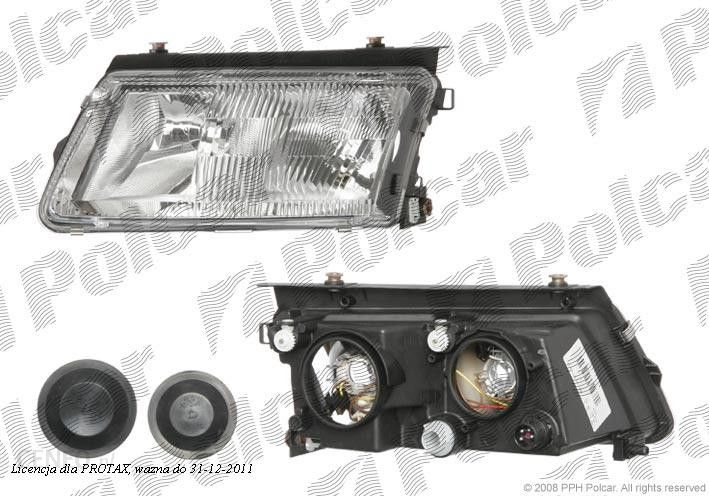 Hella Lampa Przednia Reflektor świateł Przednich Volkswagen Passat Sdnkombi B5 3b 97 00