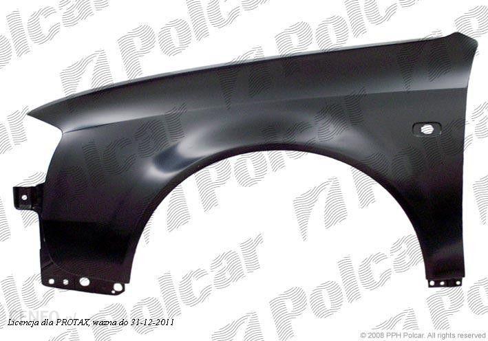 Błotnik Samochodowy Błotnik Przedni Audi A6 C5 Sdnavant 0597
