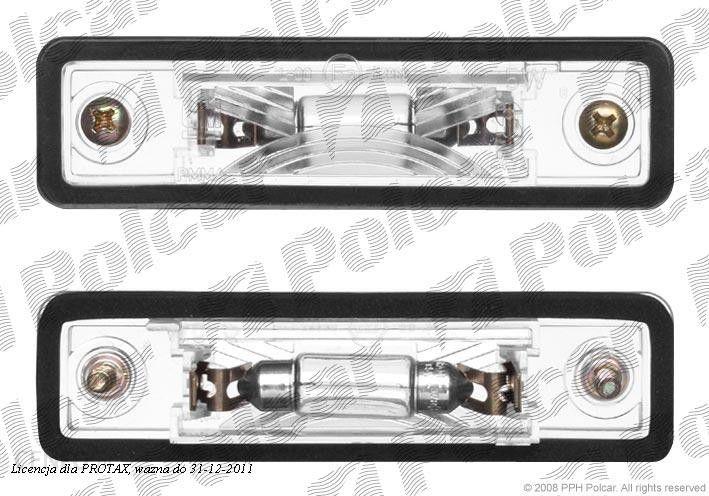 Axo Scintex Lampa Oswietlenia Tablicy Rej Opel Astra G 0198