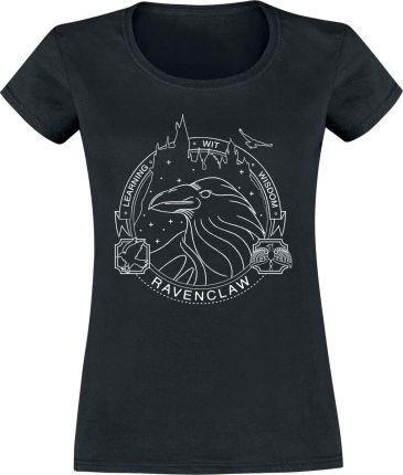 Harry Potter - Ravenclaw - Seal - T-Shirt - Czarny