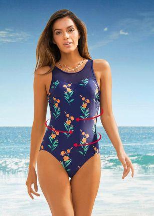 Bonprix Kostium Kąpielowy Shape Level 1, Przyjazny Dla Środowiska , - Ceny i opinie Stroje kąpielowe KCLU