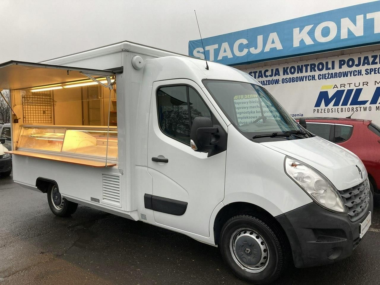 Master Autosklep Gastro Food Truck Foodtruck Borco Opinie I Ceny Na Ceneo Pl