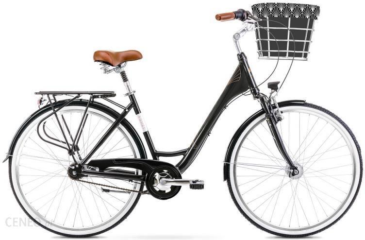 Rower Romet Art Deco Lux Czarny 28 2021 - zdjęcie 1