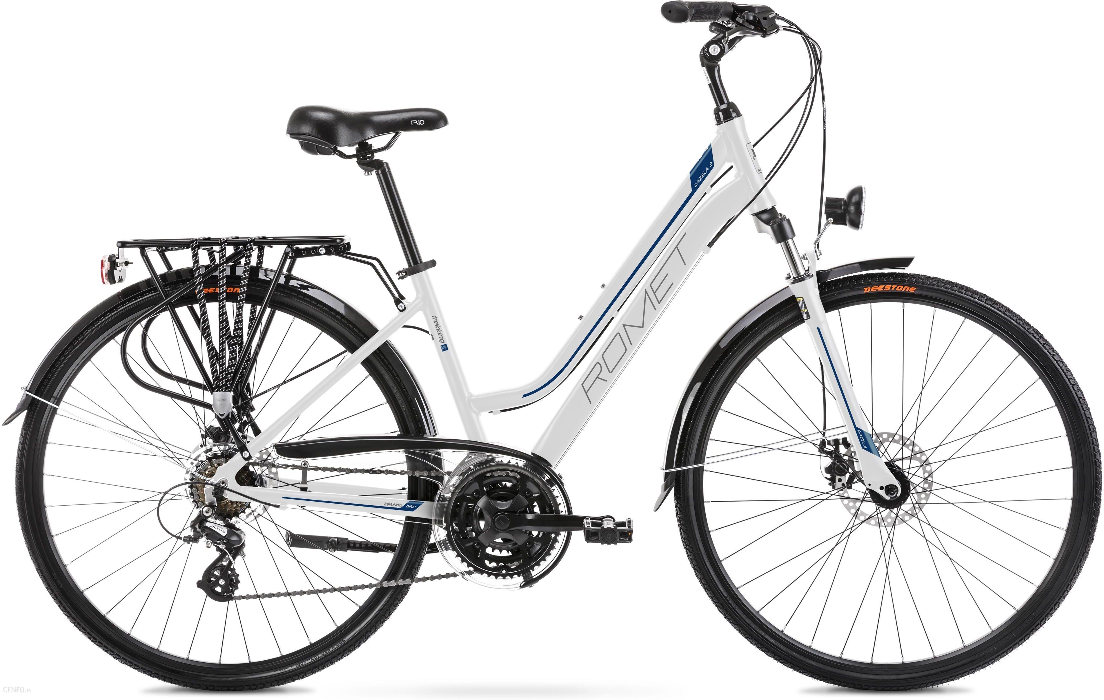 Rower Romet Gazela 2 Biały Niebieski 28 2021 - zdjęcie 1