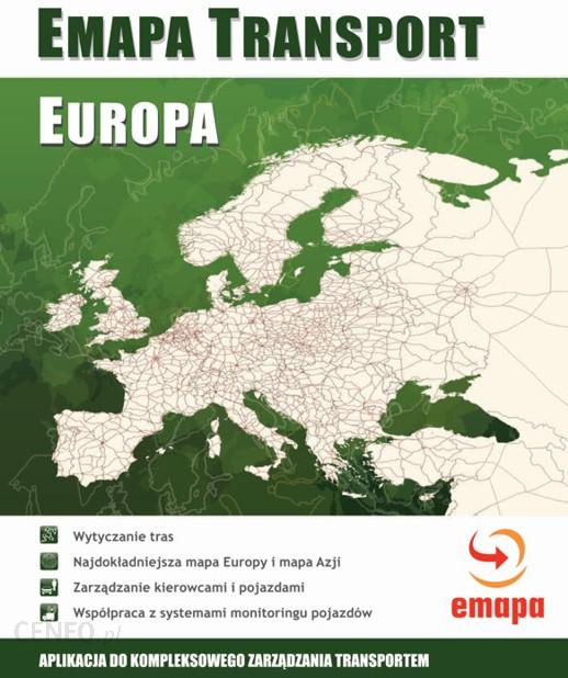 Emapa Transport Europa Pc Opinie I Ceny Na Ceneo Pl