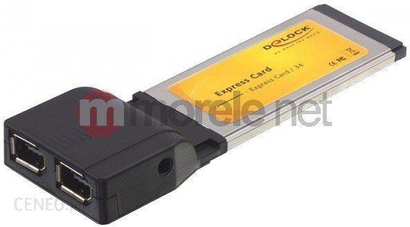 Kontroler Delock Karta Express Card Fire Wire 2 Port 1394b Soft