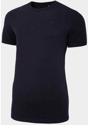 Koszulka męska NOSD4 TSM300 4F (granat) - Ceny i opinie T-shirty i koszulki męskie TGVP