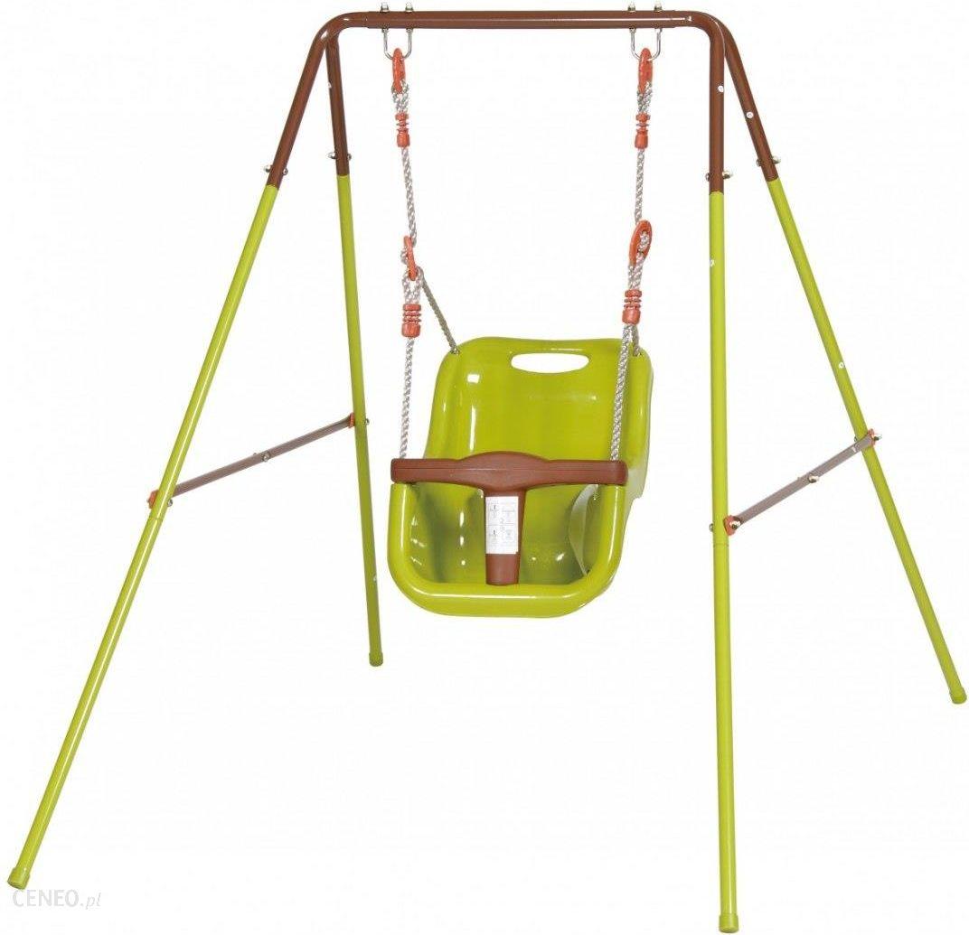 Saska Garden Huśtawka ogrodowa 1 osobowa plac zabaw dla dzieci