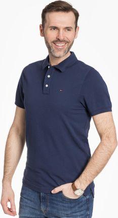 Tommy Jeans Polo Original Fine Navy - Ceny i opinie T-shirty i koszulki męskie OALU