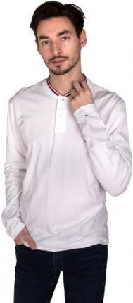 Tommy Hilfiger Polo Męskie Baseball Biały XL - Ceny i opinie T-shirty i koszulki męskie TFMF