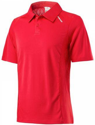 Head Performance Polo M red (L) - Ceny i opinie T-shirty i koszulki męskie DCLS