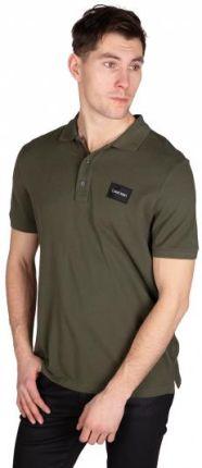 Calvin Klein Polo Męskie Zielony S - Ceny i opinie T-shirty i koszulki męskie OOCA