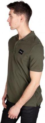 Calvin Klein Polo Męskie Zielony XL - Ceny i opinie T-shirty i koszulki męskie KRNE