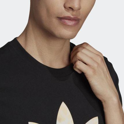 Adidas Camo Trefoil Tee GN1856 - Ceny i opinie T-shirty i koszulki męskie QKEJ