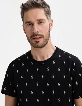 Polo Ralph Lauren Koszulka Czarny - Ceny i opinie T-shirty i koszulki męskie JXWD