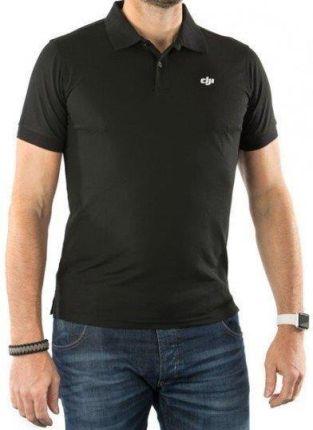 DJI Polo Shirt Black XXL - Ceny i opinie T-shirty i koszulki męskie QFDI