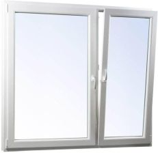 Okno Pcv Rozwierne Rozwierno Uchylne 1465x1435mm Symetryczne Biale Opinie I Ceny Na Ceneo Pl