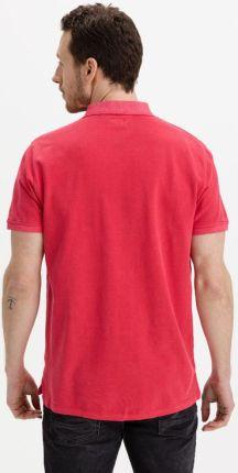 Pepe Jeans Vincent Polo Koszulka Czerwony - Ceny i opinie T-shirty i koszulki męskie SKJH