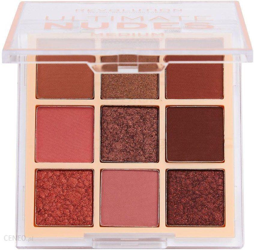 Makeup Revolution London Ultimate Nudes cienie do powiek Medium 8,1g