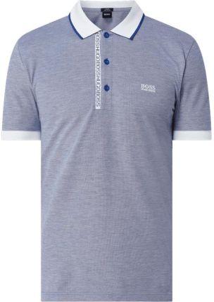 Koszulka polo o kroju slim fit z bawełny pima model 'Paule' - Ceny i opinie T-shirty i koszulki męskie AMEH