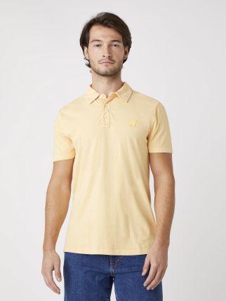 Wrangler Gd Polo Lovely Mango - Ceny i opinie T-shirty i koszulki męskie HWFM