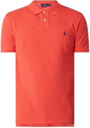 Koszulka polo o kroju custom slim fit z wyhaftowanym logo - Ceny i opinie T-shirty i koszulki męskie CIOP