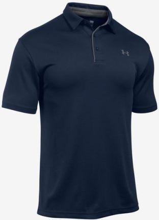 Under Armour Tech Polo Koszulka Niebieski - Ceny i opinie T-shirty i koszulki męskie VFYW