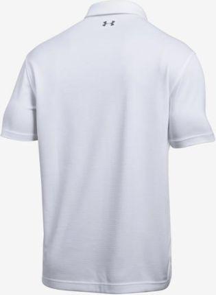 Under Armour Tech Polo Koszulka Biały - Ceny i opinie T-shirty i koszulki męskie LNKO