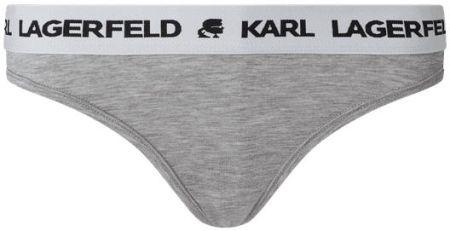 Karl Lagerfeld Majtki Typu Tanga Z Lyocellu - Ceny i opinie Majtki LDEK